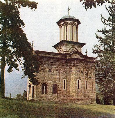 Fig. 2. Biserica-bolniţă de la Cozia, străveche cercetare frumoasă şi mistică a relaţiei arhitectonice dintre om şi Dumnezeu